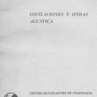 Oscilaciones y ondas : acústica